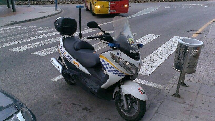 Suzuki - Policia Local, Alcudia - Mallorca