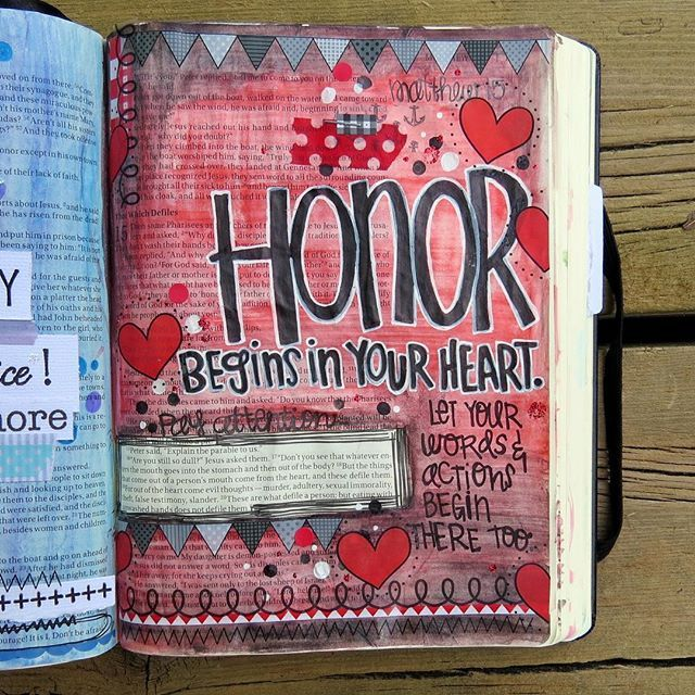 It's so easy for people to quickly cast judgement without knowing the whole story or to say mean things, even act unkindly and feel no regret. Everyone is guilty of this.  Let's work harder to think, speak and act with honor. We can all be kind...always. #srmstickers #srmstickersdesigner #illustratedfaith #biblejournaling #icolorinmybible #catholic #designsofapaddymack