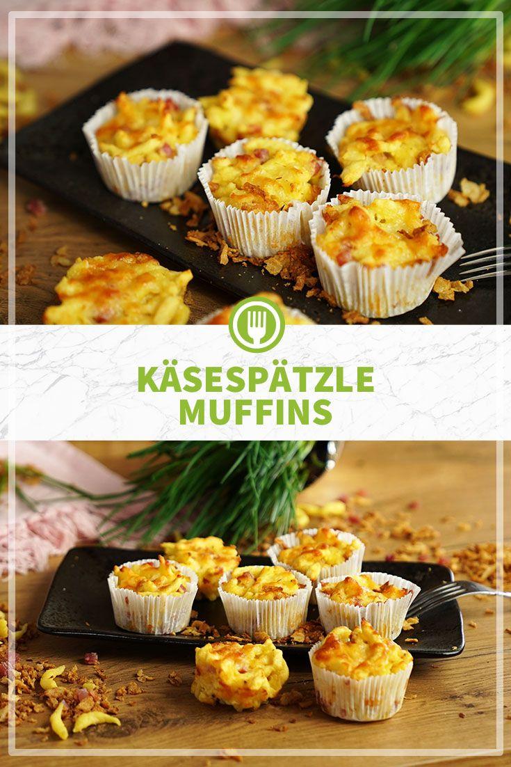 Käsespätzle Muffins