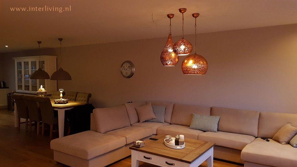 Koperen lampen: warme oosterse sfeerverlichting met uitstraling