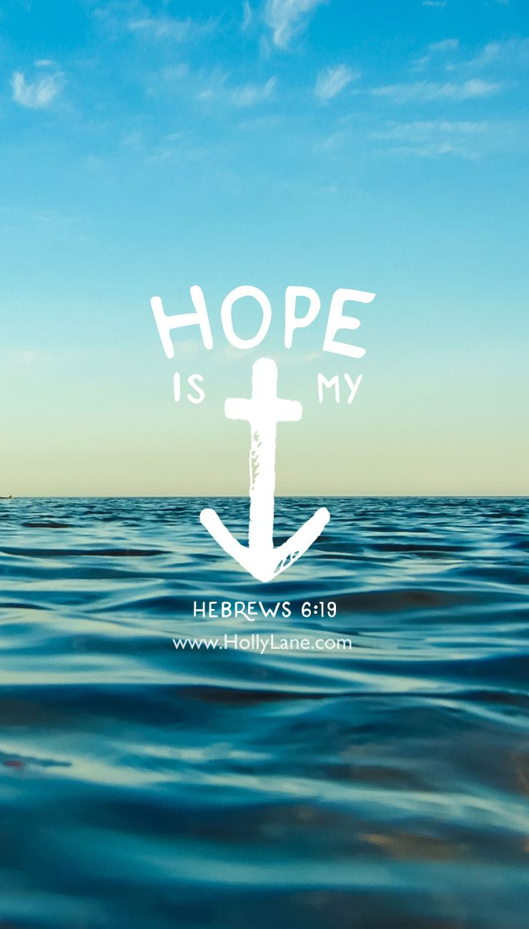 Anchor for the soul jesus is my inspiration bible - Bible verse background iphone ...