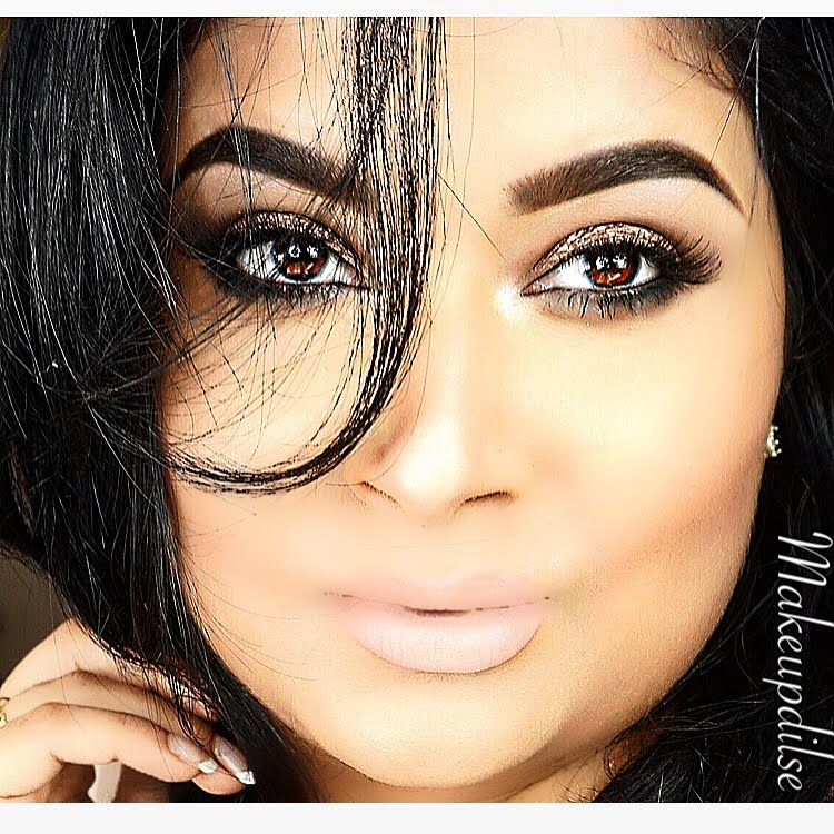 Bollywood Inspired,Quick & Simple Smokey Eyes No liner