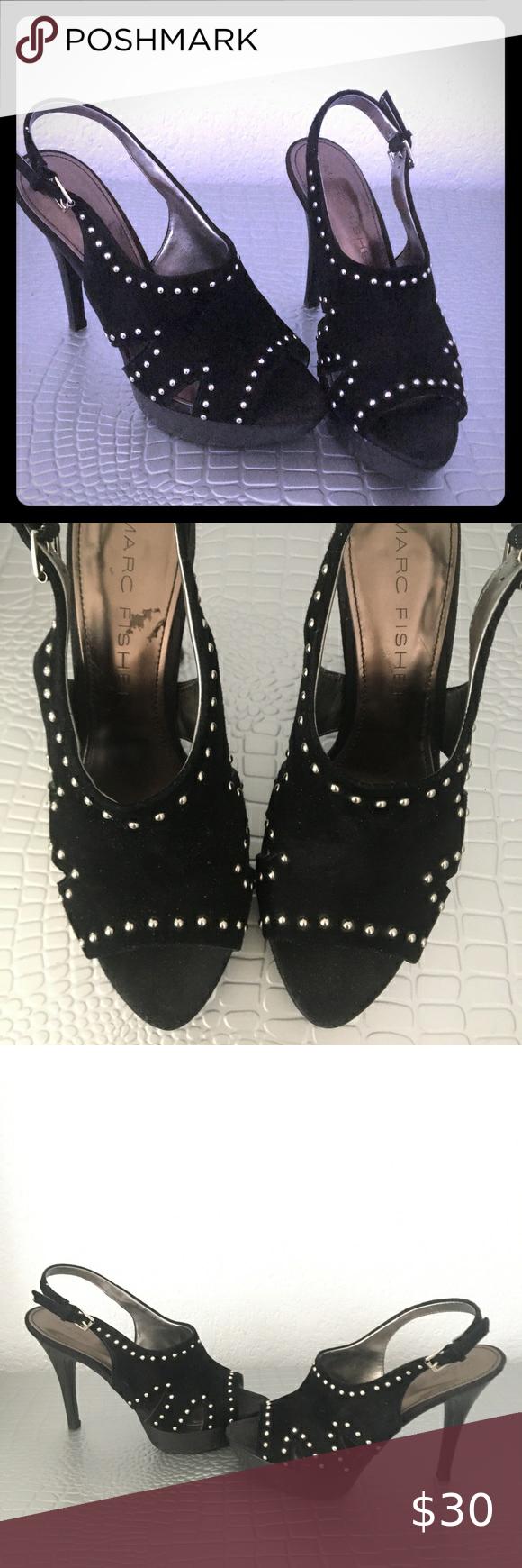 Heels Beautiful black Marc fisher 7.5 heels Marc Fisher Shoes Heels
