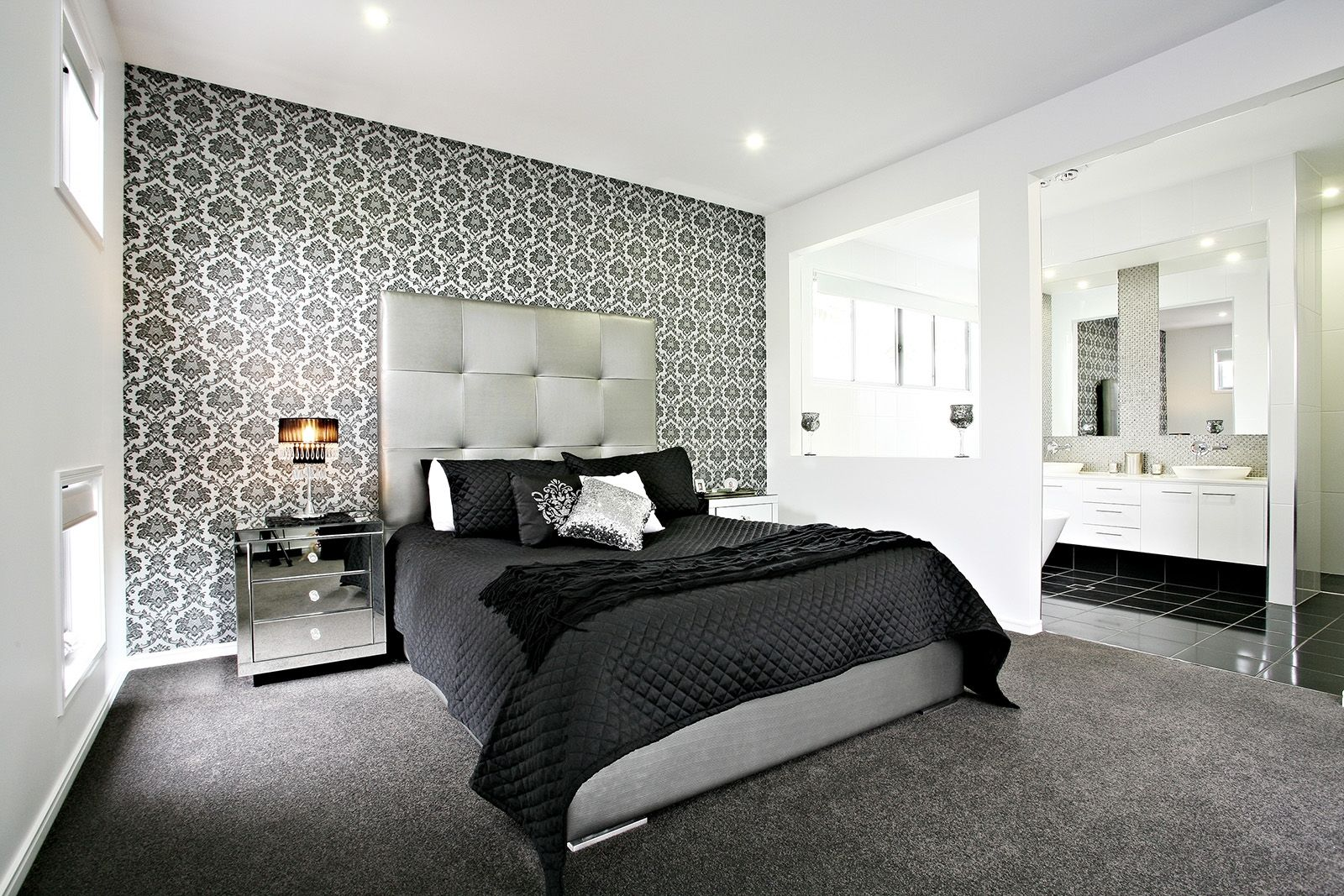 Feature Wall Wallpaper Ideas Bedroom
