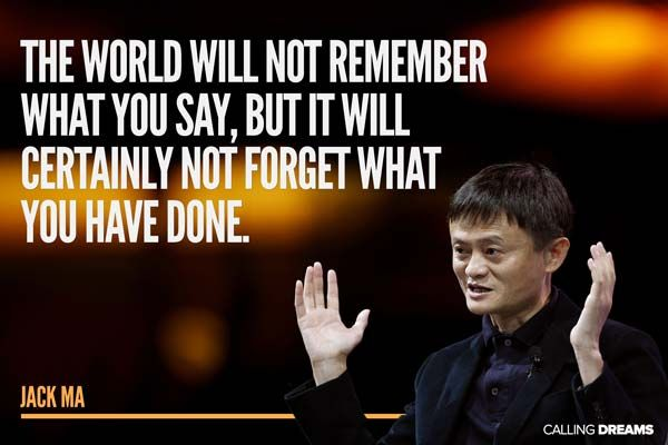 42 Inspirational Jack Ma Quotes Inspirational and