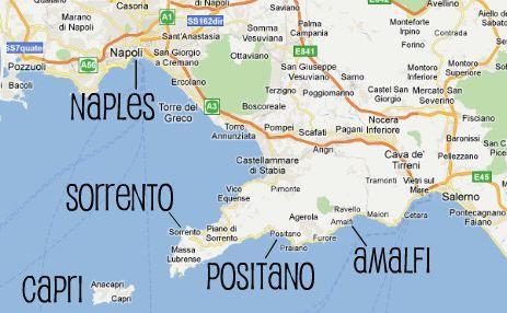 costa amalfitana mapa Resultado de imagen para costa amalfitana mapa | Italia  costa amalfitana mapa