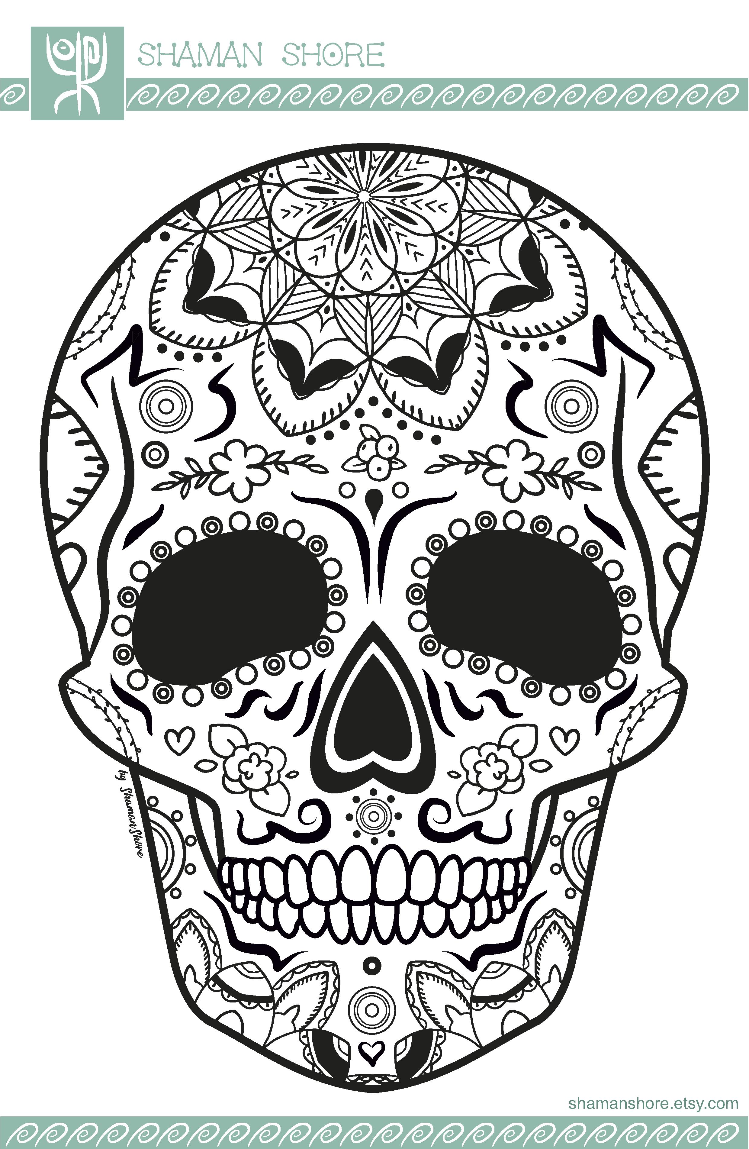 Pin On Calaveras Sugar Skulls