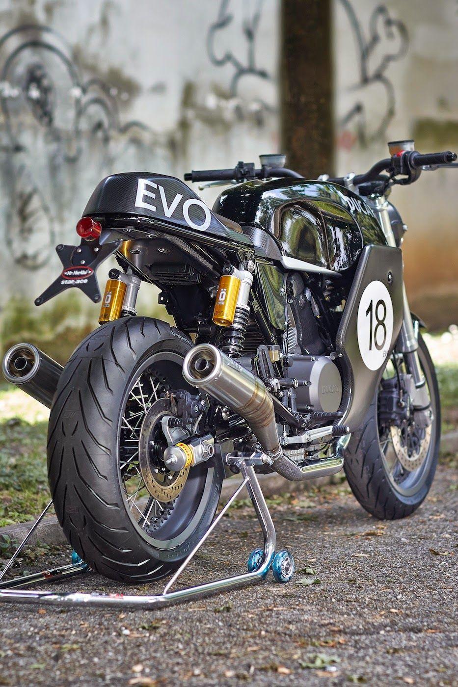 Ducati Gt1000 Cafe Racer Mr Martini Grease N Gasoline Cafe