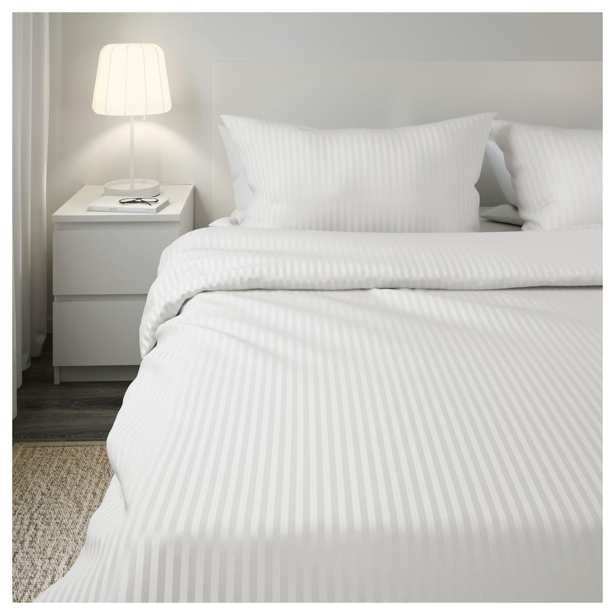 Nattjasmin Duvet Cover And Pillowcase S White Twin Duvet