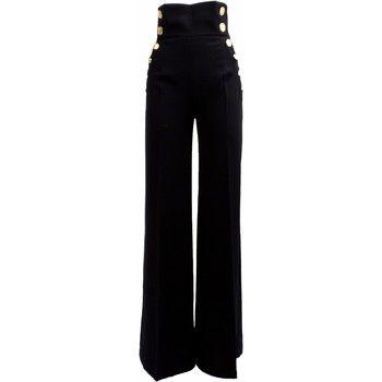 88defdd14a Pantaloni Elisabetta Franchi Pantalone Donna PA9193236 Crèpe ...
