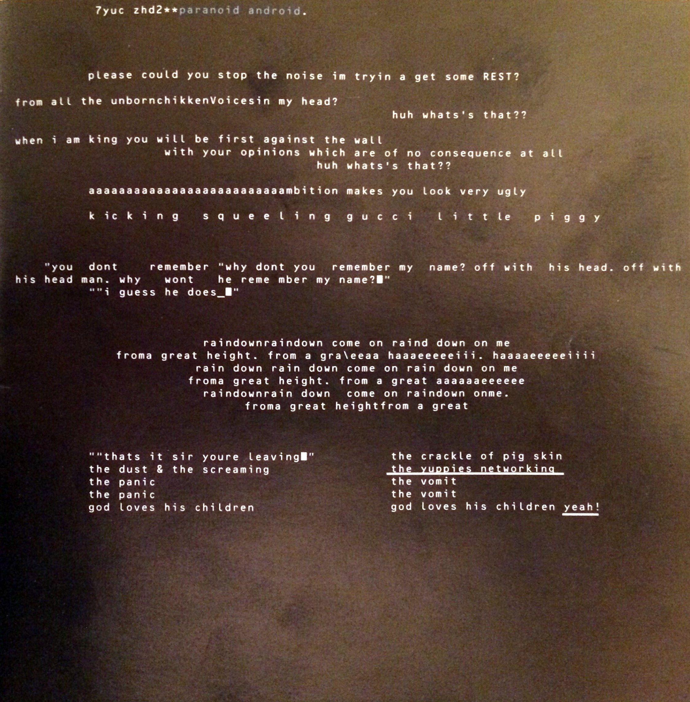 Album Release: Wed 21 May 1997. 3rd Studio