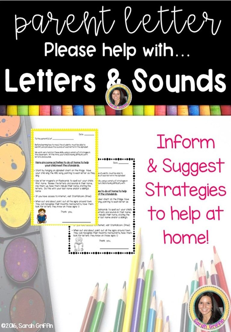 17++ Letter to parents from teacher about progress ideas