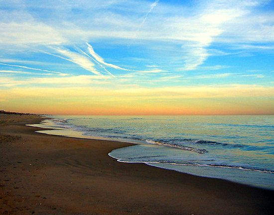 North Carolina Beaches Sunrise On The Outer Banks
