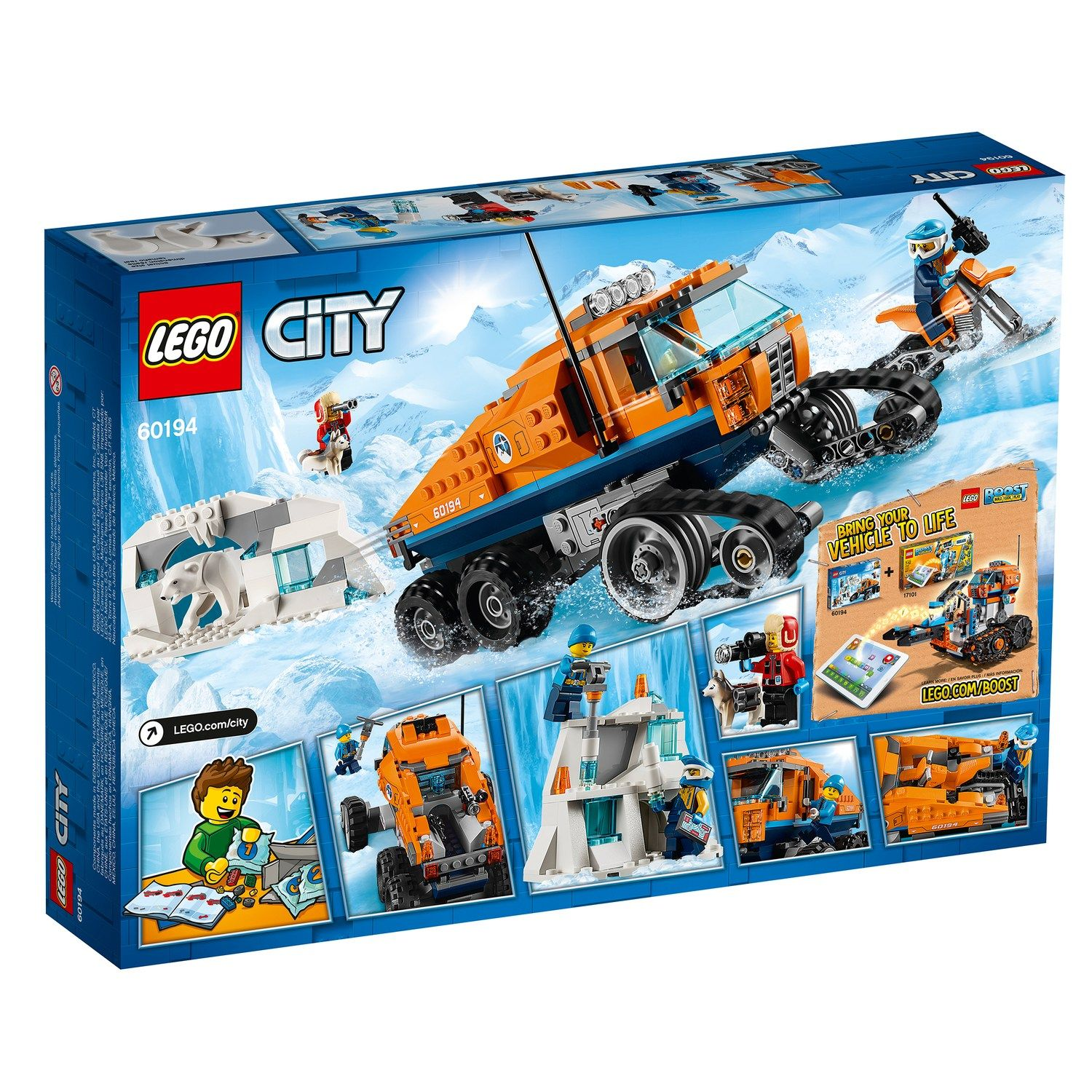 120 Piece Bundle Set New LEGO City Arctic City Arctic Expedition Building Kit