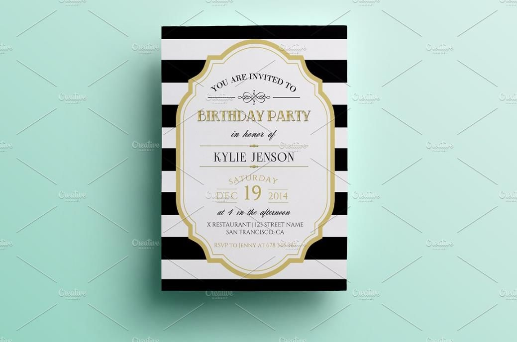 25+ Premium Birthday Party Invitation Templates u2013 PSD,Indesign,Word - best of invitation birthday party text