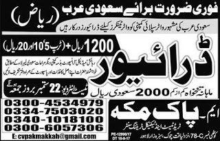 Pakistan Job Alert: Jobs-in-Pak-Makkah-Trade-Test-and