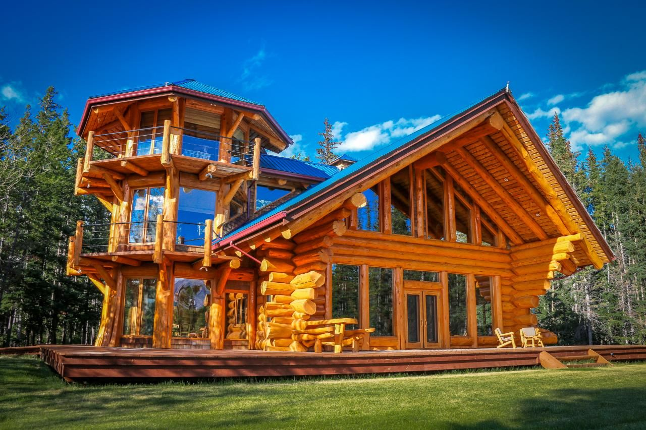 Luxury Log Home On White Iron Lake And Cabin Realestate In ElyMN Bearislandland