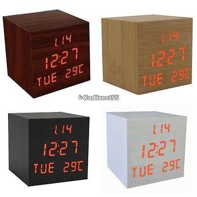digitale gross jumbo led snooze wand schreibtisch wecker wochentag kalender uhr c objetos de deseo. Black Bedroom Furniture Sets. Home Design Ideas