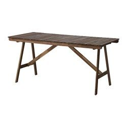 Tavoli Da Esterno Ikea.Ikea Falholmen Table Outdoor For Added Durability And So You Can Enjoy The Natural Exp Outdoor Dining Furniture Stain Ikea Furniture Outdoor Dining Table