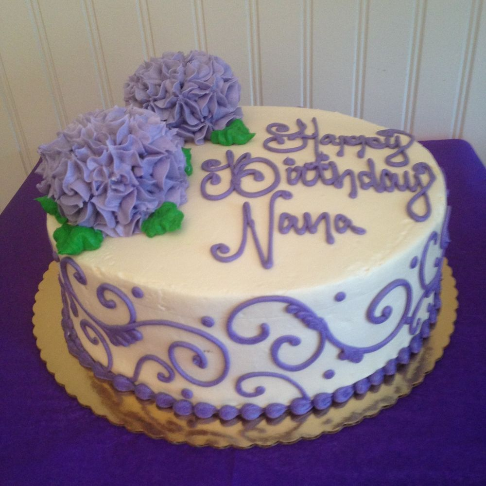 Birthday Cake Hydrangeas Birthday cakes Bakeries and Cake