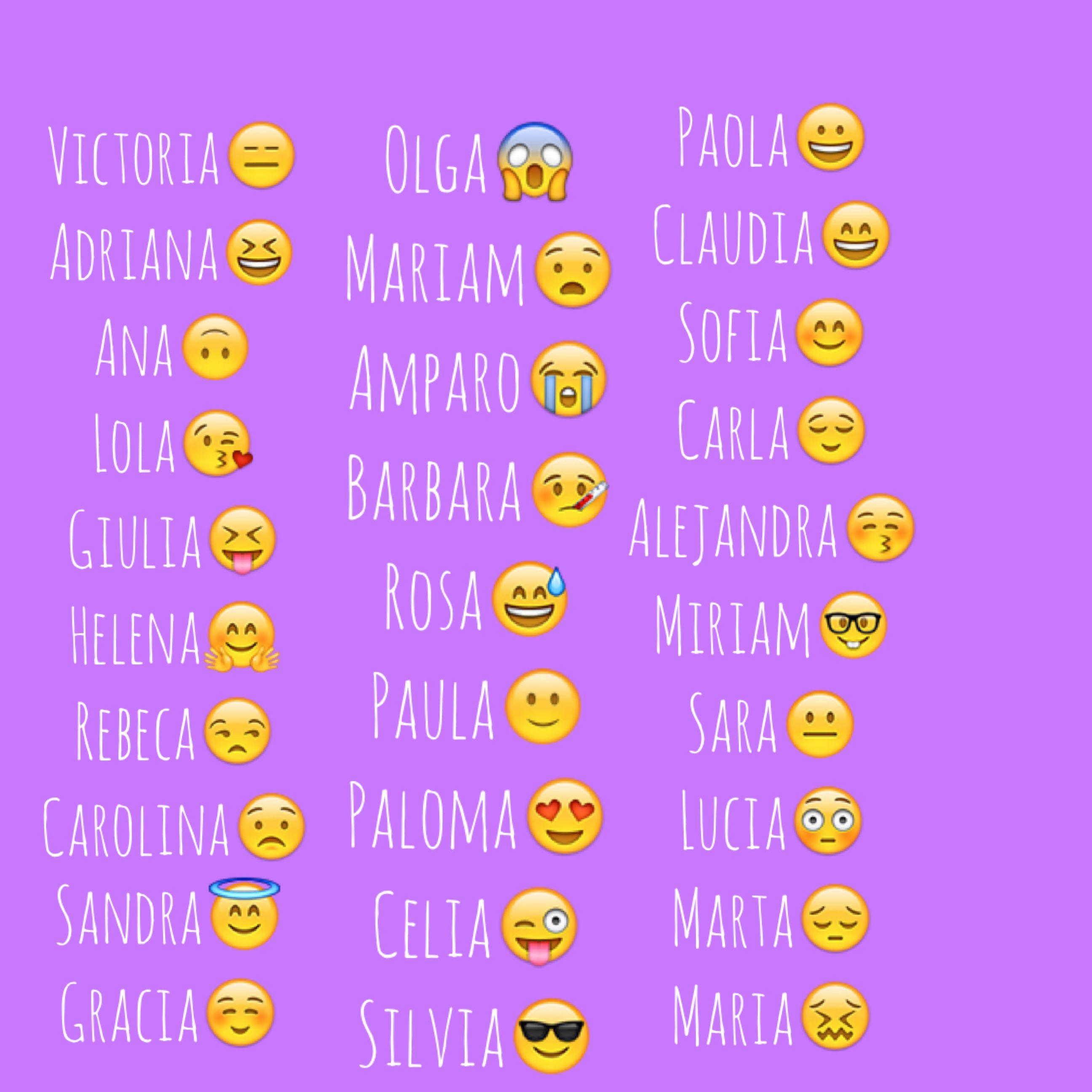 Que Significa Tu Nombre En Emojis