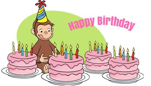 Free curious george birthday ecards curious george birthday cards free curious george birthday ecards bookmarktalkfo Images