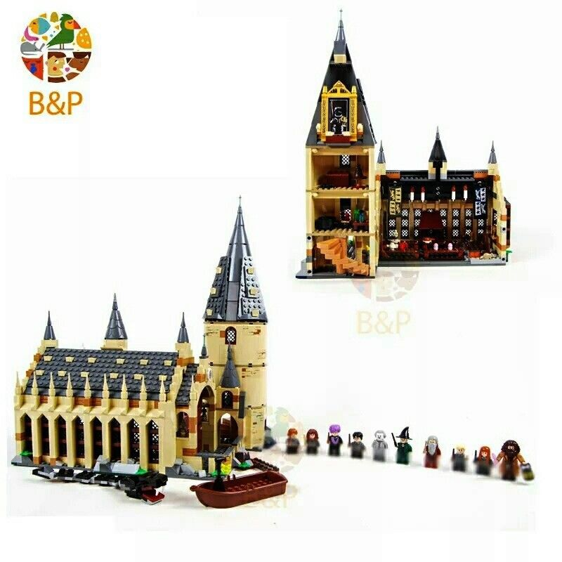 Hogwarts Legoing Harry Potter Hall75954unbranded Great nwmN80