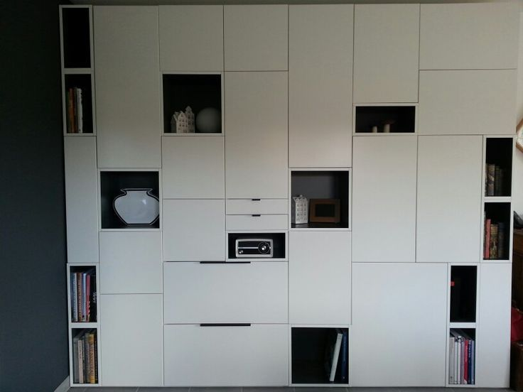 Ikea Metod used as Iounge wall units Bopp Küche Pinterest