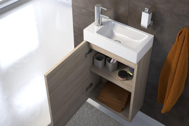 Waschbecken Mit Unterschrank 40 Cm Tief Waschbeckenunterschrank Waschbecken Unterschrank