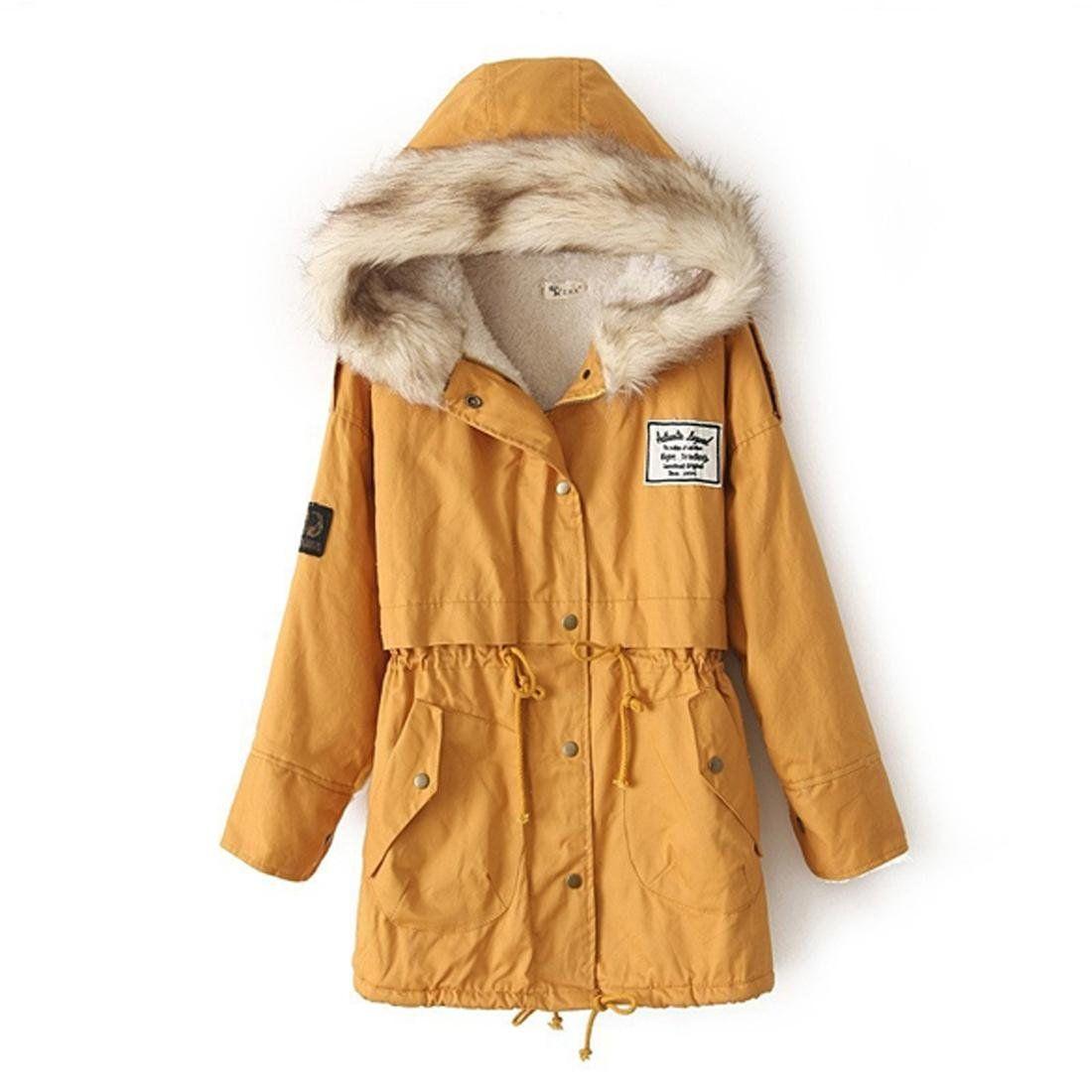 Zeagoo Damen Winter Hoodie Fleece Jacke Gepolsterte Jacke Kapuzenjacke Wintermantel Jacken Wintermantel Damen Fleece Jacke