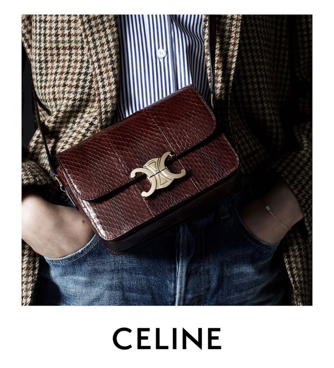 Image by Ashlee Sara Jones on CÉLINE CHIC Celine tote