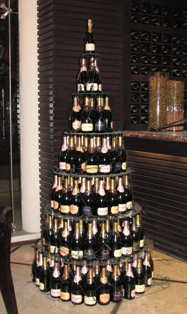Bottle Christmas Decoration Cynthia Hardin  Or This Will Do Just Finechampagne For Every