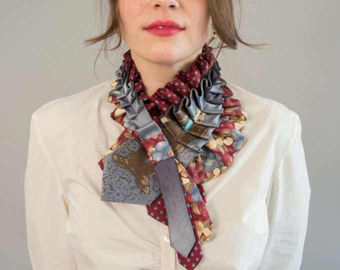 upcycled necktie