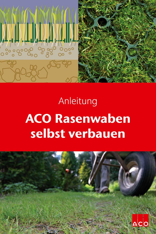 Anleitung Rasenwaben Selber Einbauen Instructions How To Install Honeycomb Grass Plates In 2020 Rasen Regenwassernutzung Entwasserung