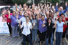 Plan Honduras have 'Raised their Hands to Support Quality Education for Girls.'    www.raiseyourhandNOW.com