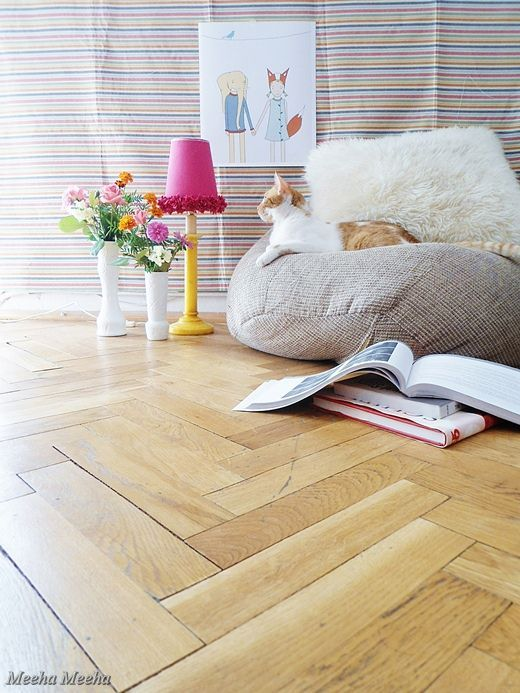 Decor pictures of plywood floors painted