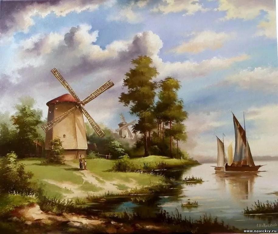 живопись голландских мастеров пейзажи: 7 тыс изображений ...