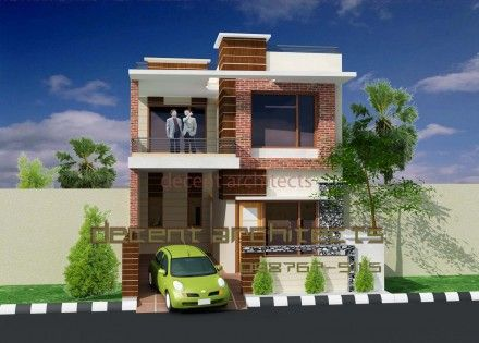 Small modern house on exterior design by decent architects also rh pinterest