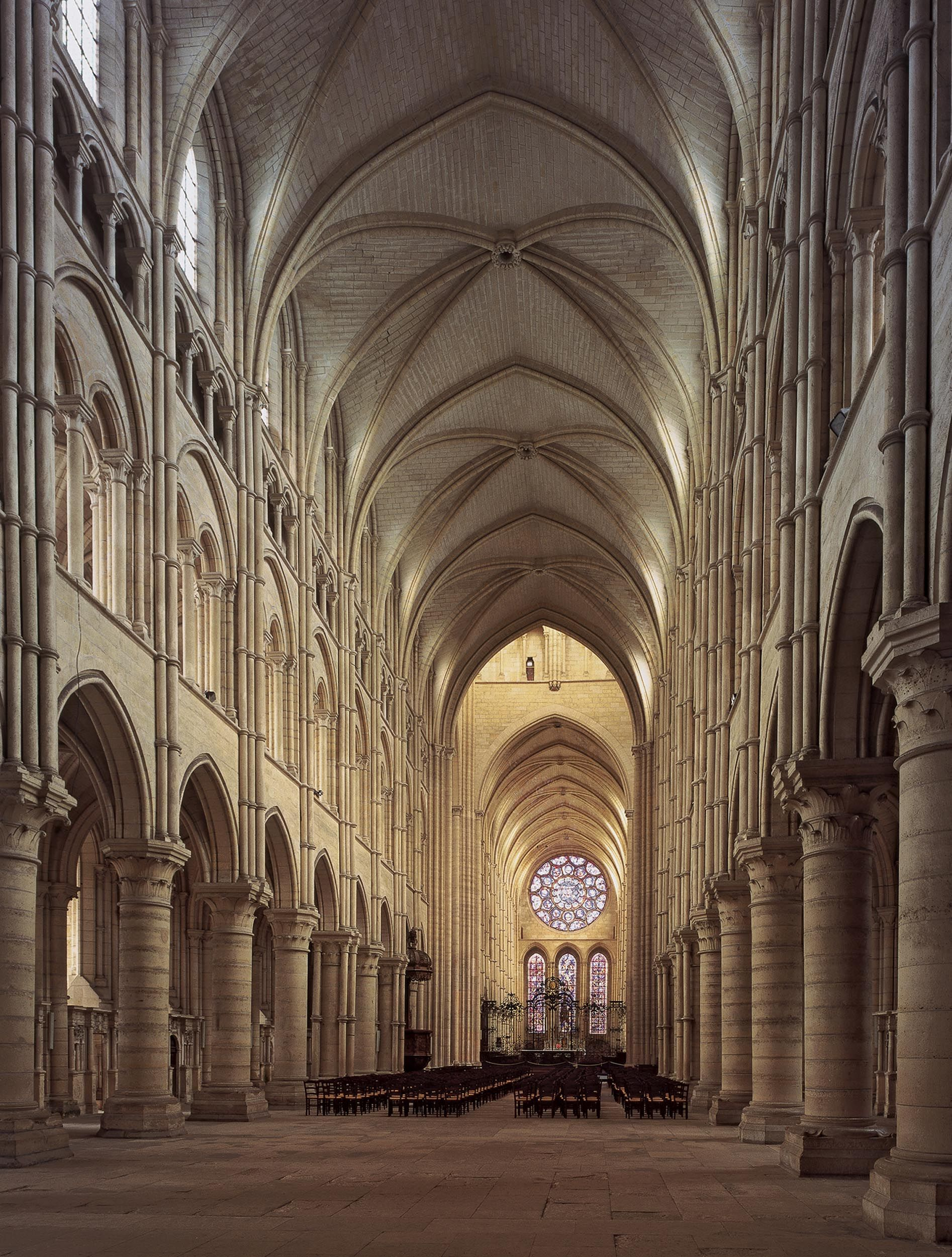 Notre Dame Cathedral Nave