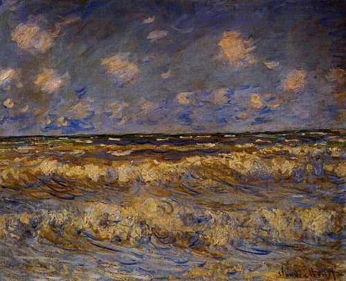 Claude Monet - Rough Sea(1881)