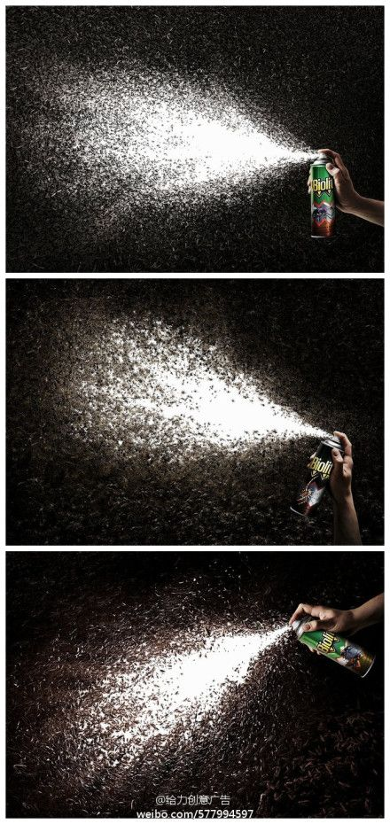 creative Insecticides  advertising design, mosquitoes wiped out! Interestingly advertising design,left a deep impression