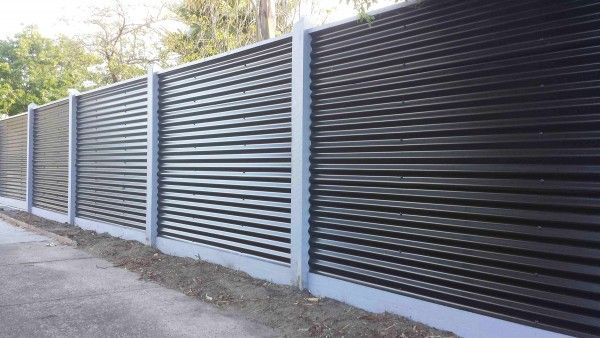 Corrugated Steel Fencing 125x125 Premioum Cypress Posts 160x25mm Treated Pine Plinth Cing