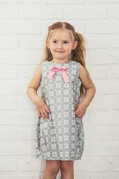 Bawelniana Sukienka Bombka Kwiaty Spinki Flower Girl Dresses Dresses Summer Dresses