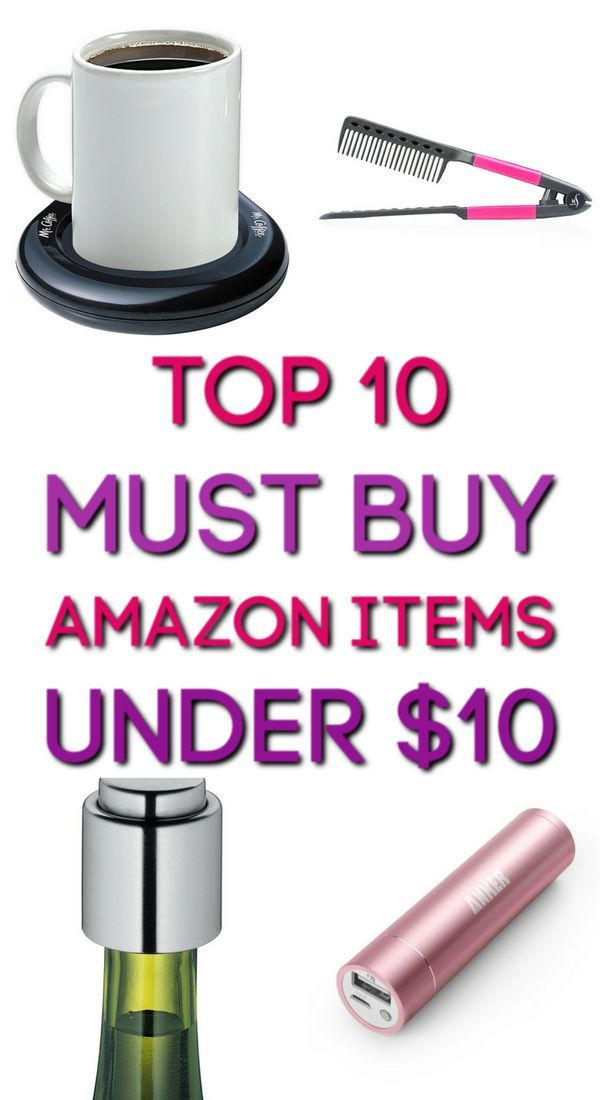 10 Items From Amazon Under $10 You Didn't Know You Needed   Unique gifts for men, Stuff to buy ...