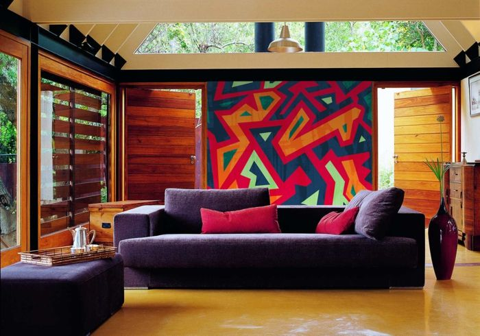 Wohnideen Rot einrichtungsbeispiele raumgestaltung inneneinrichtung ideen
