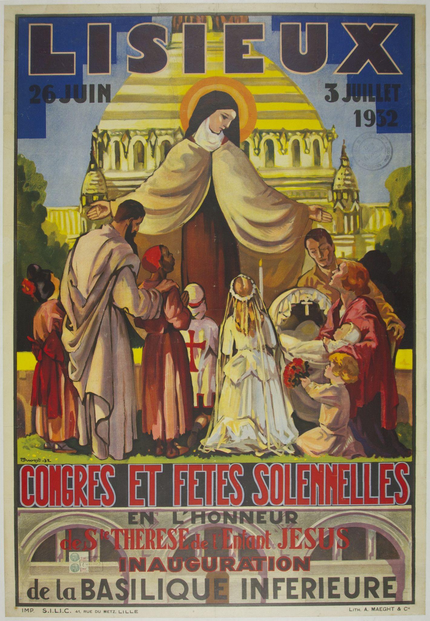Lisieux Catholic saints, St therese of lisieux, Vintage