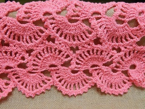 ▷ Shawl de Abanicos Crochet parte 1 de 2 - YouTube | patrones ...