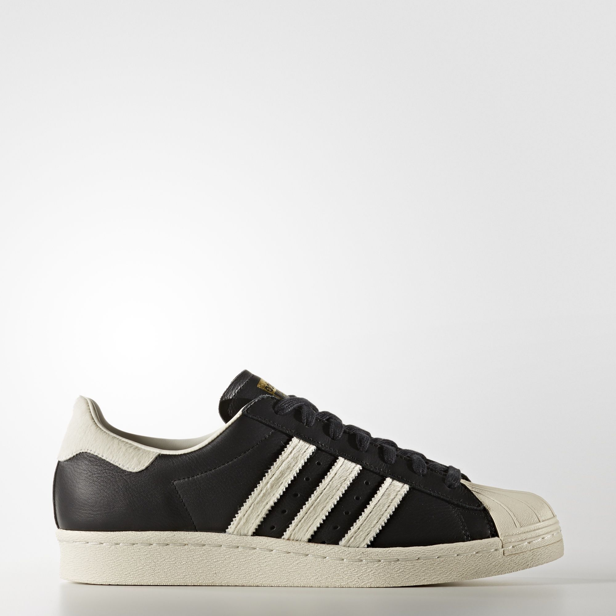 adidas superstar negras 80s