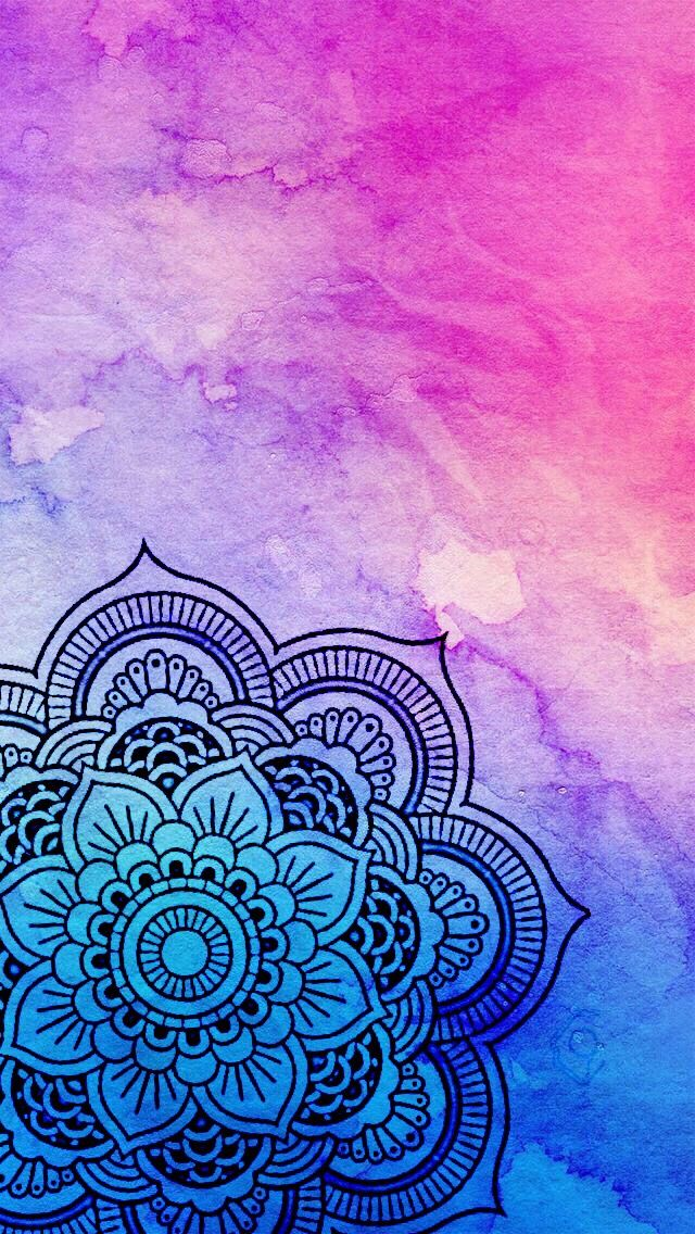Colourful mandala wallpapers mandala fondo de pantalla for Fondos lindos para celular