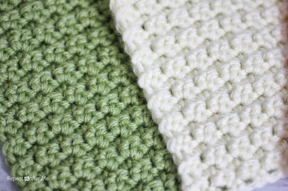 Solid Granny Square Crochet Pattern Grit Stitch Repeat Crafter
